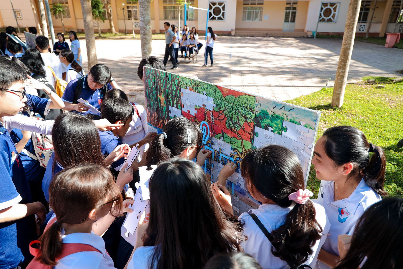 More than 1,000 students participated in the
