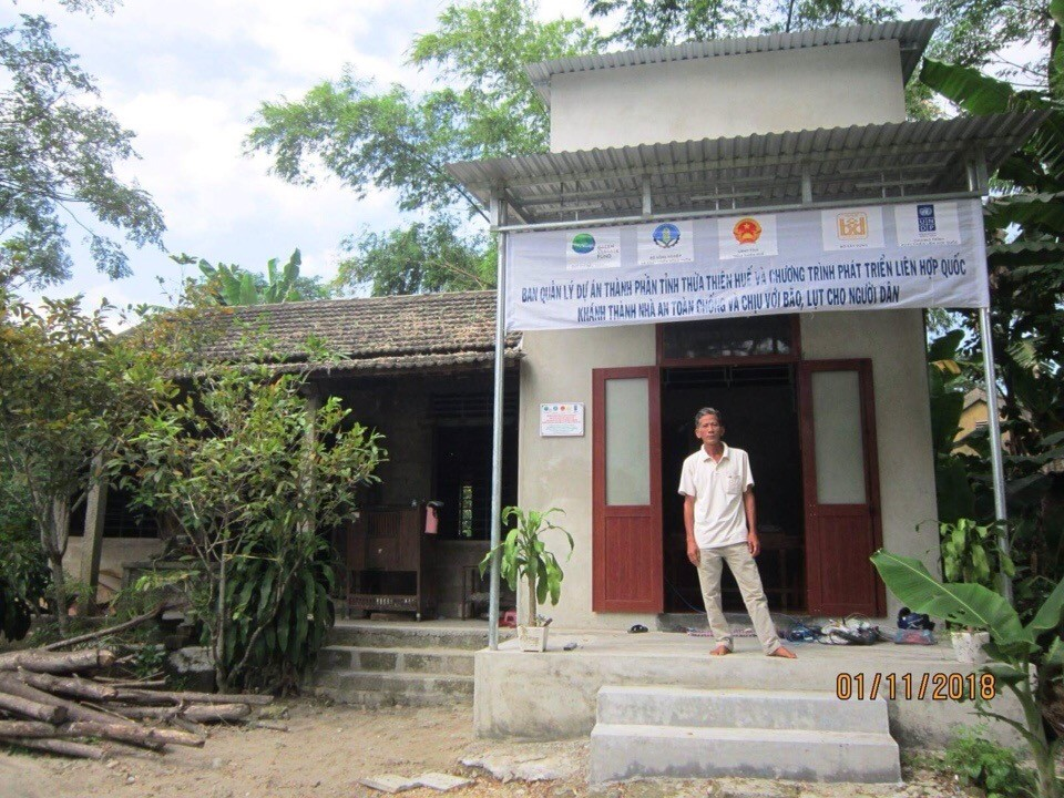 Government of Viet Nam and UNDP announce plan to build 1380 resilient houses, regenerate 1386 hectares of mangrove in 2019